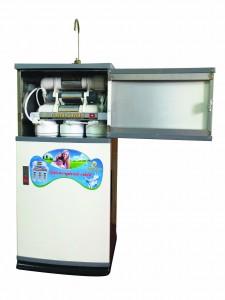 Máy lọc nước kèm tủ